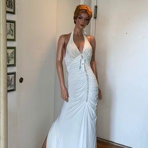 NWT white gown